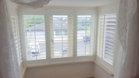 Shutters fitted in Bray