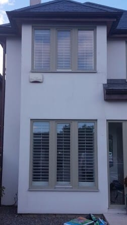 exterior image of shutters fitted in bray