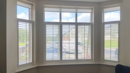 shutters fitted onto tilt and turn window in carrickmines