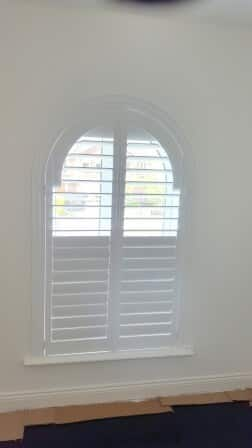 Video – Arched Shutter fitted in Dublin 15