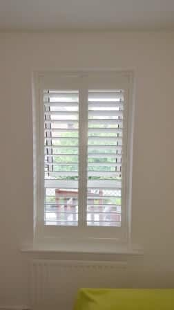 Plantation Shutter Fit in Ballsbridge Dublin 4