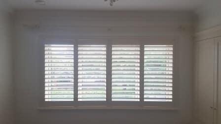 Interior Wood Shutters fitted in Rathfarnham