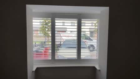 Beautiful Shutters installed throughout house in Clongriffin