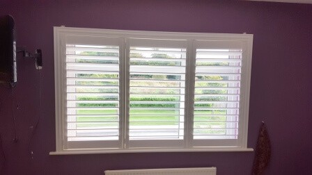 This house in Ratoath Co Meath was recently fitted out with Plantation shutters.