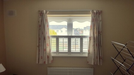 Cafe Style Shutters fitted in Ashbourne