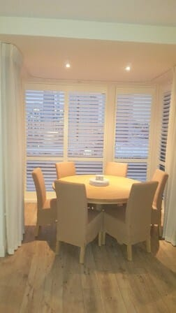 Tall 89mm Shutters Fitted into an Apartment in Dublin 4