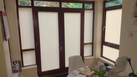 Made to Measure Pleated Blinds in Stillorgan