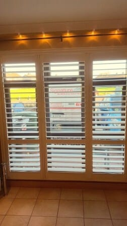 Shutters Blinds fitted recently in Clondalkin Dublin 22