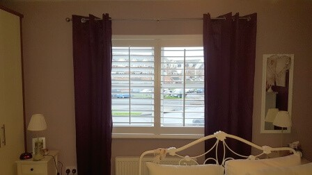 Bedroom Shutters in Clonee Dublin 15
