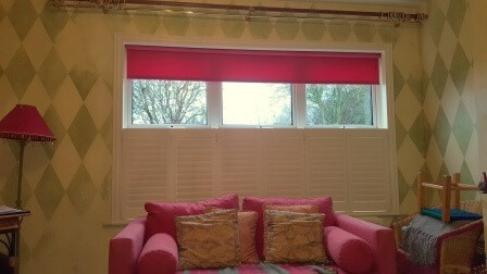 Cafe Style Shutters and Blinds in Maynooth Kildare
