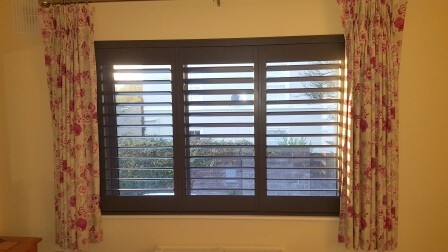 Teak Shutters fitted in Malahide