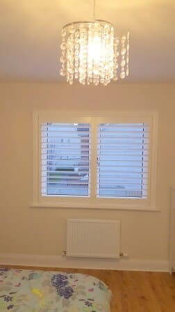 Plantation Shutters fitted in Clonee