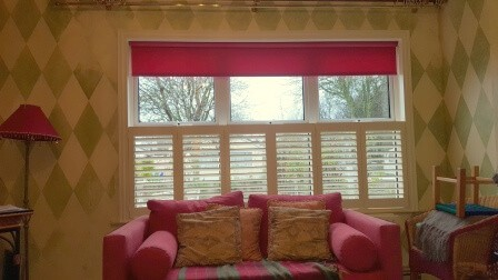Cafe Style Shutters & Blinds fitted in Maynooth