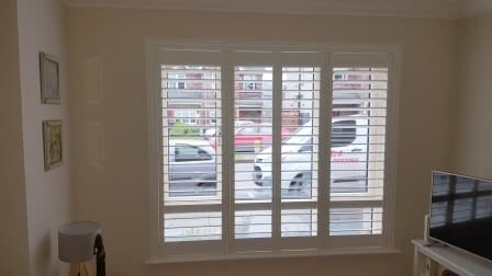 Shutters fitted in Clonee