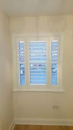 Shutters with divider bar in Clonee Dublin 15