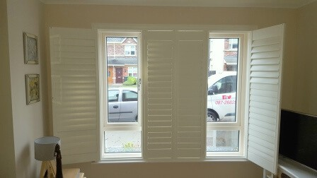Sitting Room Shutters in Clonee