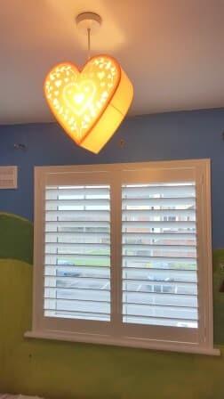 shutters in a boys bedroom bettystown