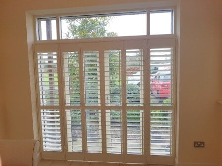 Shutters fitted in Killeen Castle, Dunsany, Co Meath