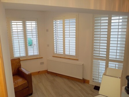 Shutters fitted in Loughshinny, Co Dublin