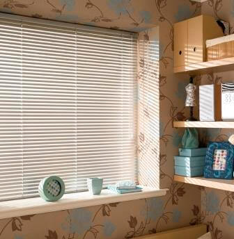 Off White Venetian Blind