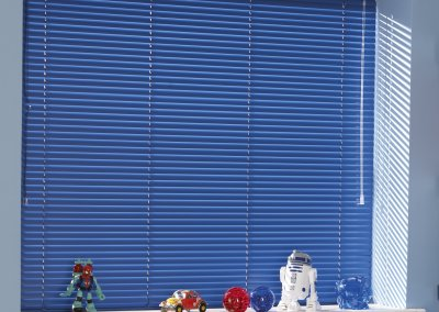 Royal Blue Venetian Blind