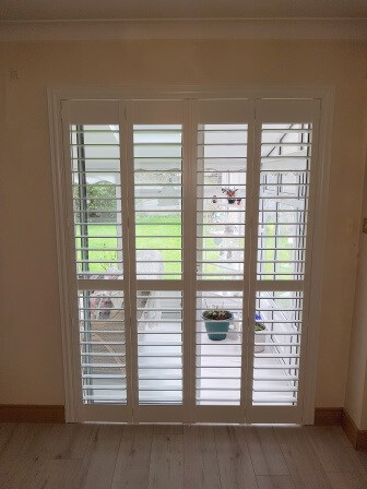 French Door Shutters fitted in Ringsend, Dublin 4