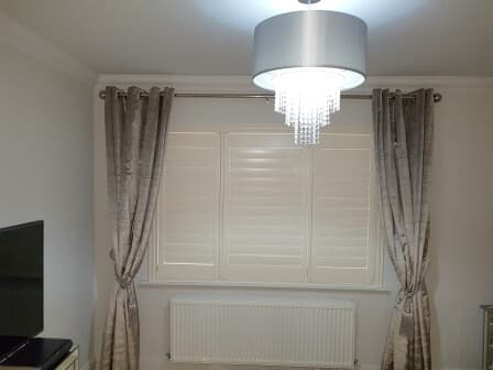 Bedroom Plantation Shutters Signature Blinds And Shutters