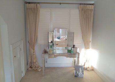 bedroom shutters in kildre