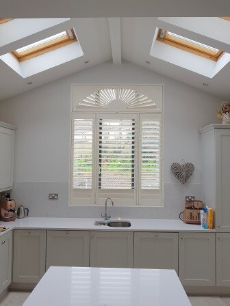 Plantation Shutters installed in Celbridge