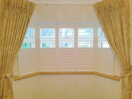 Bay Window Shutters installed in Cabra