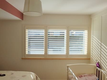 Nursery Shutters fitted in Castleknock