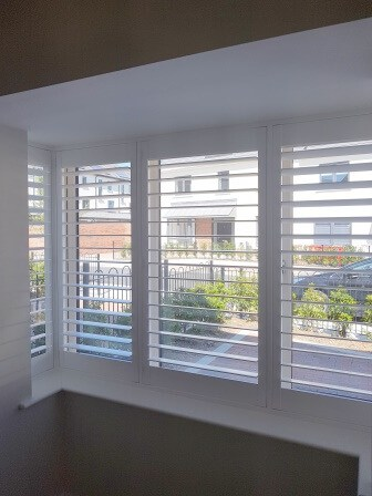 Bay Window Shutters Clongriffin Dublin 17