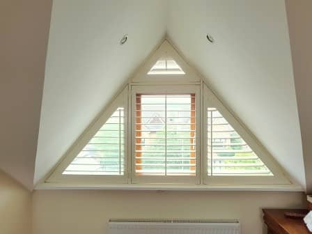 Triangular Plantation Shutter Sandyford
