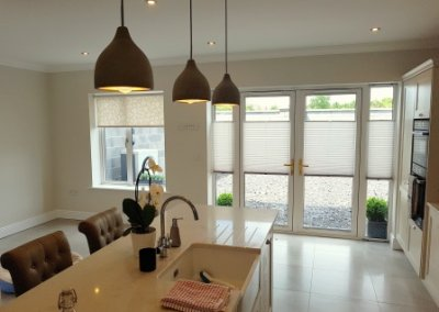 Multifunction Pleated Blinds Ashbourne
