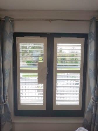 open wood shutters Celbridge