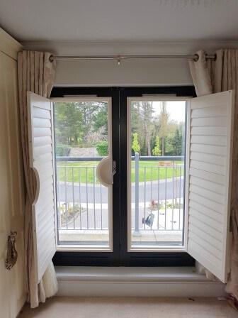 opened shutters Celbridge