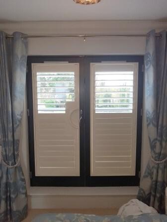 partial open shutters Celbridge