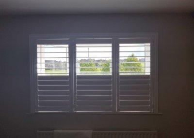 partial open shutters Drogheda