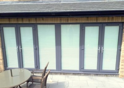 outside view of Pleated Blinds Malahide