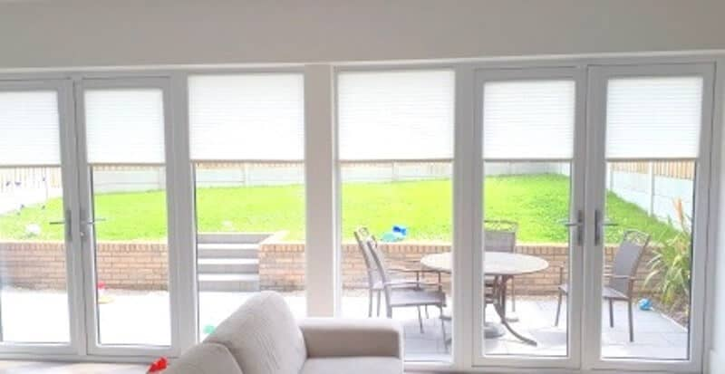 French Door Blinds in Malahide Dublin