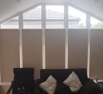 closed roller blinds Artane