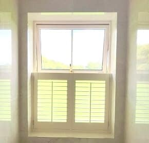Cafe Style Shutters fitted in Meath