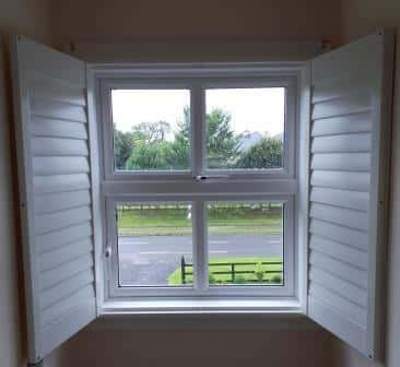 Opened Out Shutter Rathangan