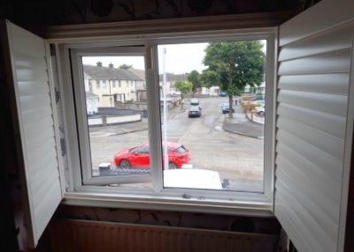 Opened back Shutter Kilbarrack