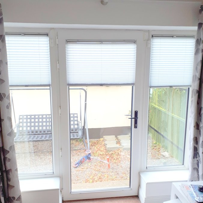Blanchardstown Pleated Blinds