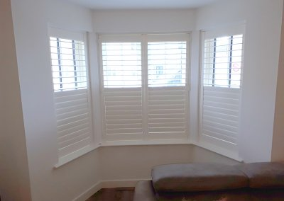 Partly opened shutters, Portmarnock