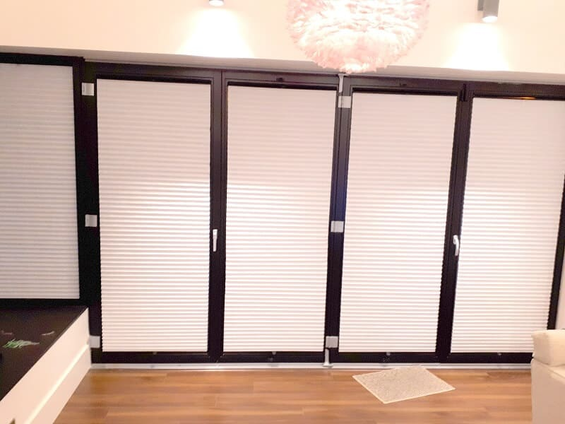 Pleated Blinds Blackrock Dublin South By Signature Blinds