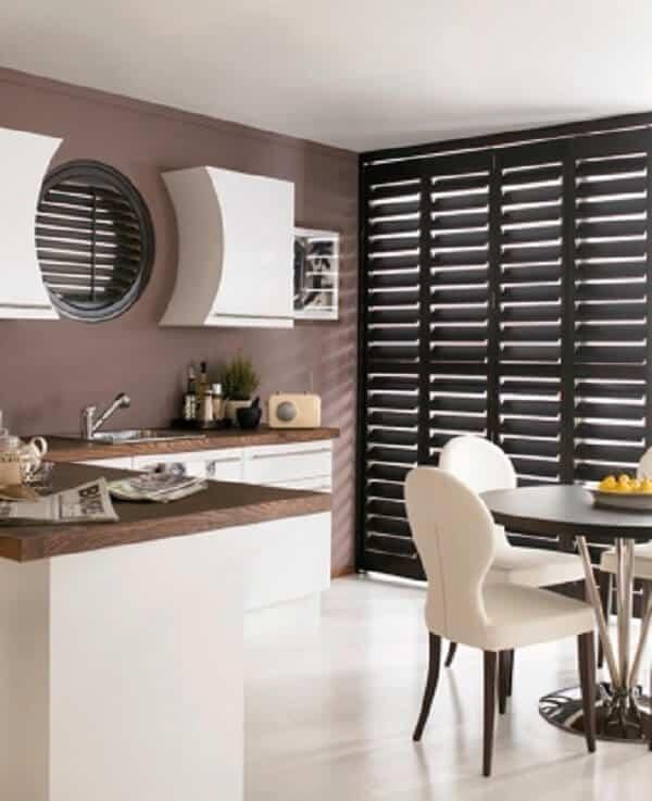 Kitchen Shutters. Venetian Kitchen Blinds