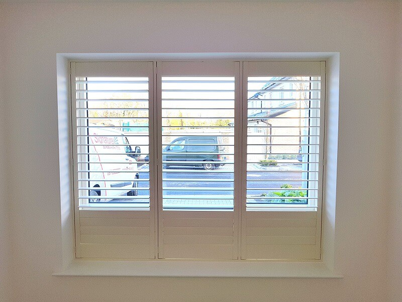 Shutters fitted in Ballinteer