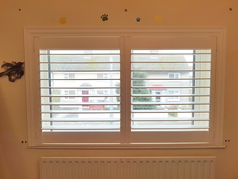 Plantation Shutters fitted in Portmarnock, Co Dublin